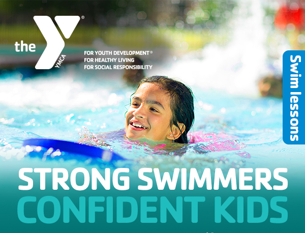 Swimming Lessons for kids at the YMCA in Newton