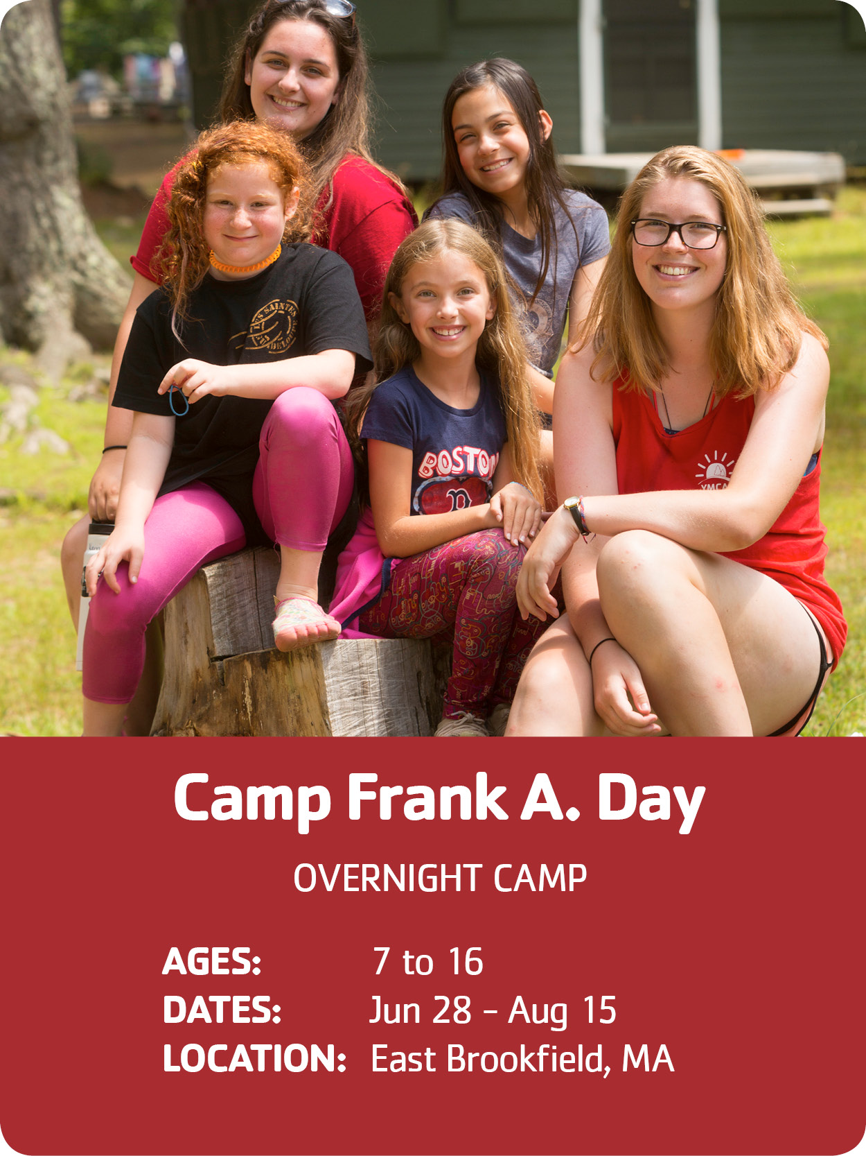 Camp Frank A. Day freshmen campers