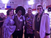 West Suburban YMCA Saturday Night Fever annual gala.