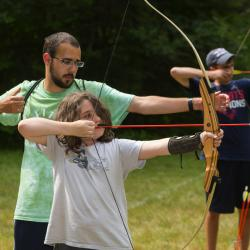 Archery, a long-time camp tradition