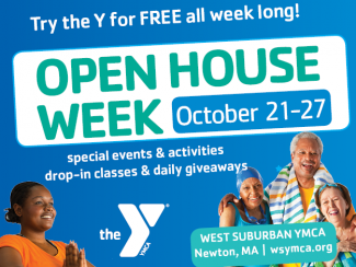 Open House Week at the West Suburban YMCA in Newton, MA